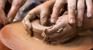 touch clay wheel